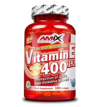 Amix Vitamina E 400UI 100 Cápsulas