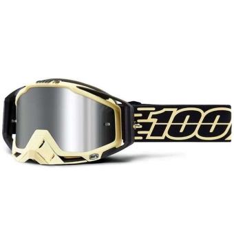 Gafas 100%. Las máscaras de 100% Racecraft Plus Jiva con lente de espejo.