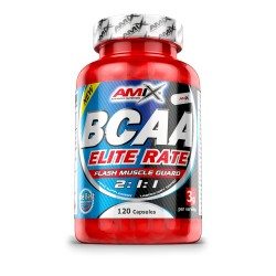 Amix Bcaa Elite Rate 120 Cápsulas
