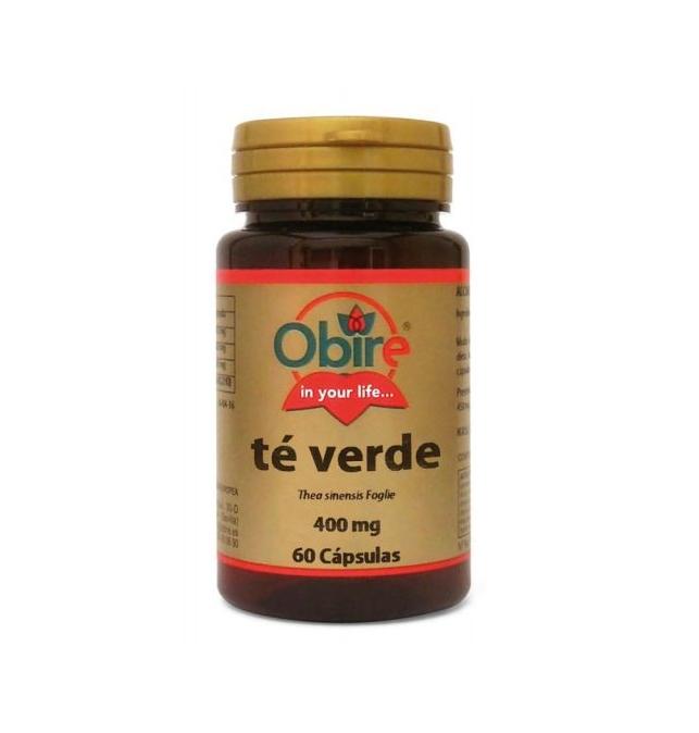Obire Te Verde 400 mg 60 Cápsulas